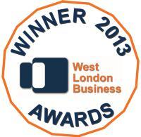 West London Business Awards winners logo