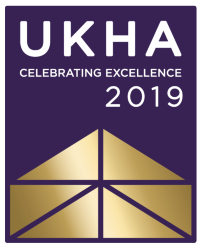 The UK Housing Awards 2019 logo