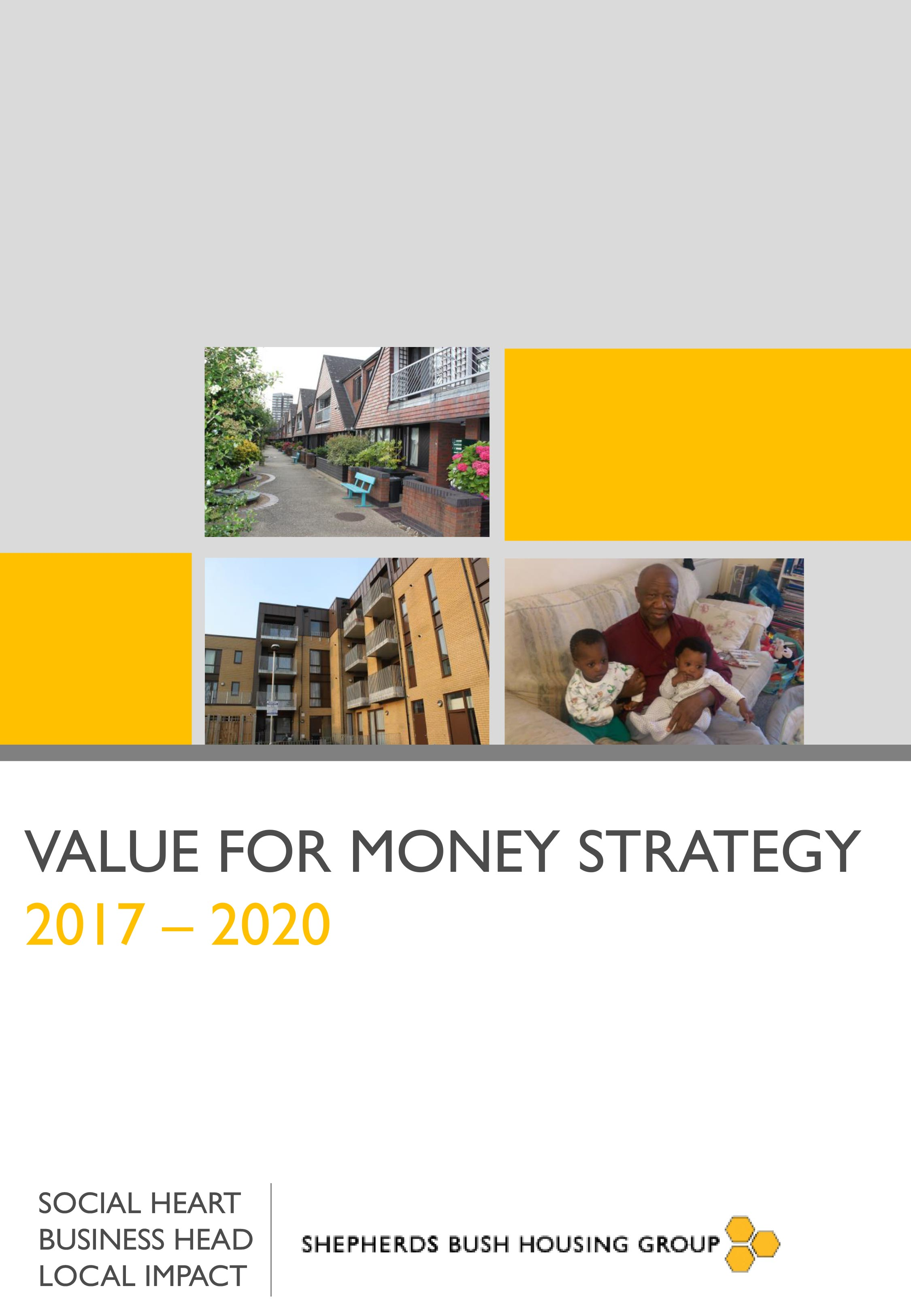 Value for Money Strategy cover