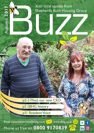 October 2017 Buzz front cover