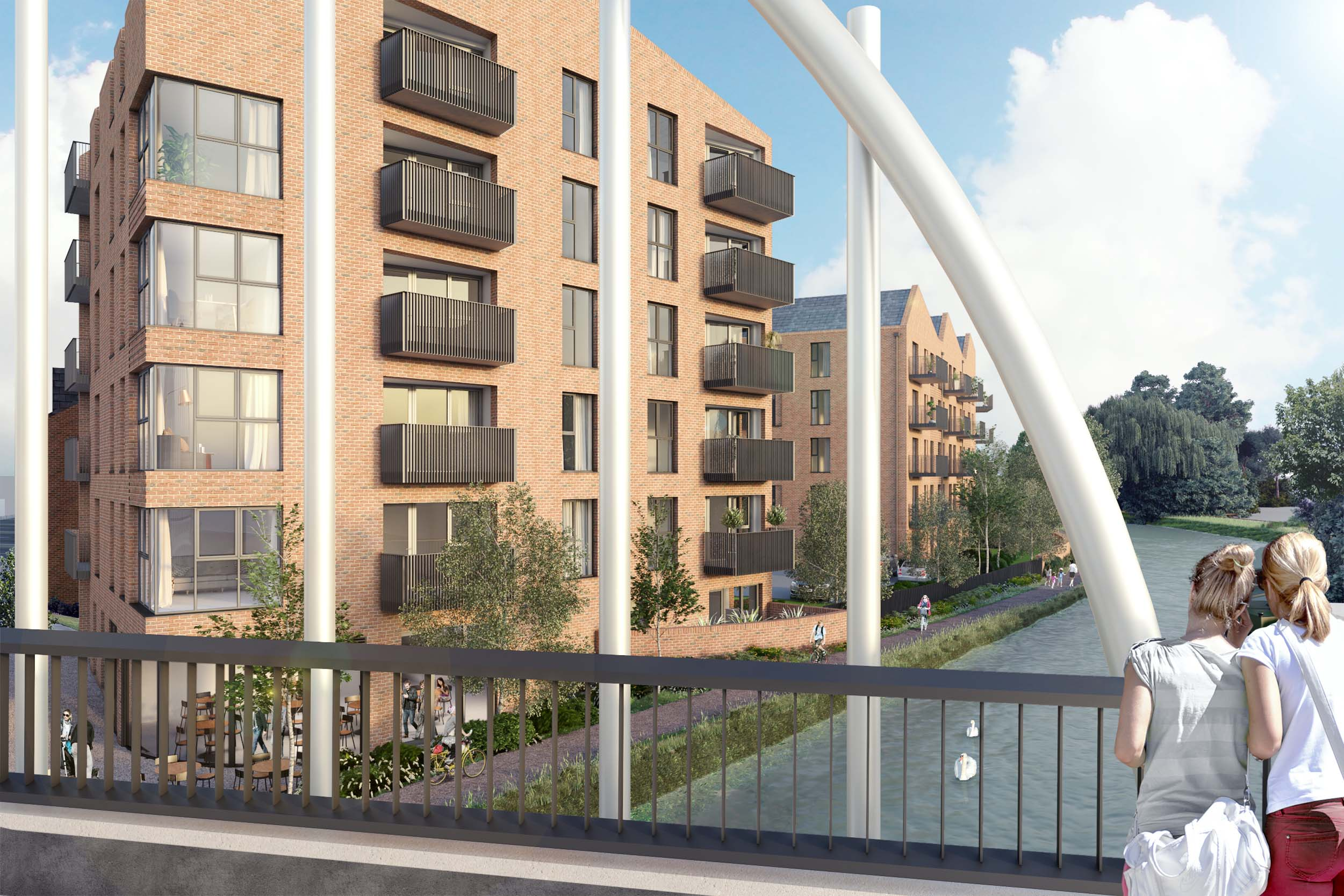 CGI image of Horton Road Development