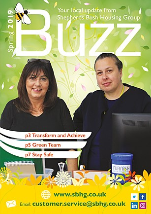 Front cover of Buzz Spring edition 2019