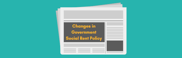 Changes in Government Social Rent policy