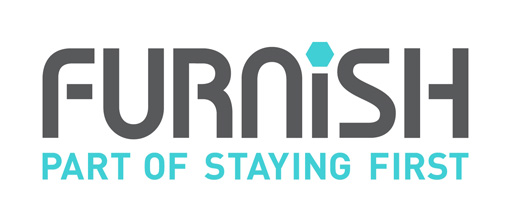 Furnish - part of staying first logo