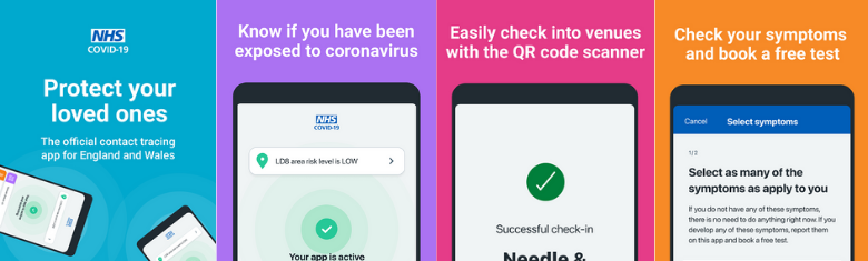 Download the NHS Covid-19 App. Protect your loved ones. Know if you've been exposed to Covid-19. Check your symptoms & book a free test.